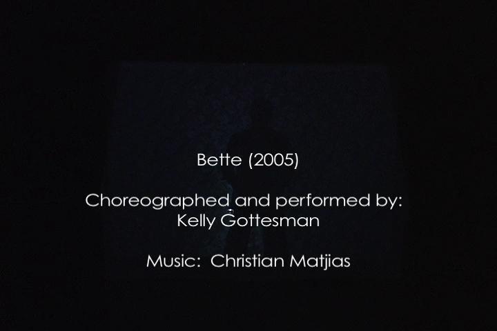Bette 1937-2000 (8 min)