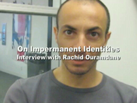 On Impermanent Identities: Interview with Rachid Ouramdane