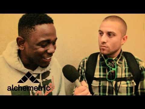 Kendrick Lamar talks about Anger Management & War.