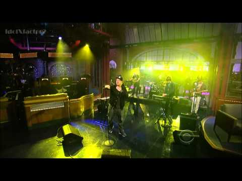 El-P  ft. Nick Diamonds - Stay Down - David Letterman (5-15-12)