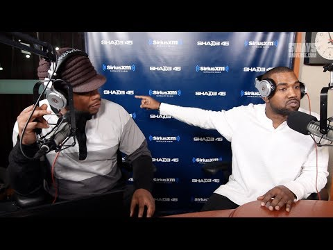 Kanye West Flips Out During Sway In the Morning Interview