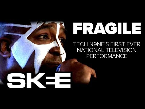 """Tech N9ne's First National Television Performance - """"Fragile"""" [SKEE Live]"""