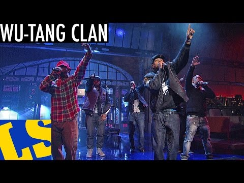 "The Wu-Tang Clan Bring The ""Ruckus In B Minor"" Live On The Late Show w/ David Letterman"