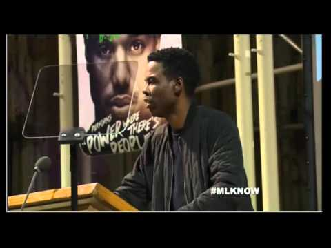 WATCH: Chris Rock brings down the house at MLK Now event with stunning James Baldwin reading
