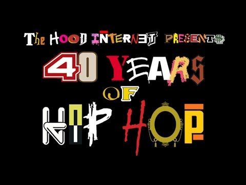 Over 150 songs from more than 100 artists representing 40 years of hip hop all crammed into 4 minutes.