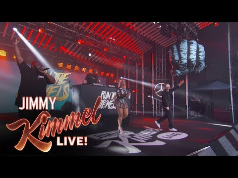 """Run the Jewels Performs """"Panther Like a Panther"""" (Live on Kimmel)"""
