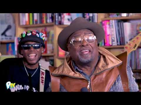 George Clinton & the P-Funk Allstars: NPR Tiny Desk Concert (VIDEO)
