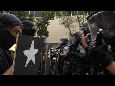May Day in Puerto Rico: Police Attack Anti-Austerity Protesters with Pepper Spray & Tear Gas