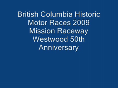 BC Historic Motor Races, Group 3, Race 2