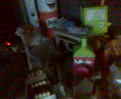 My Old Papercraft collection...