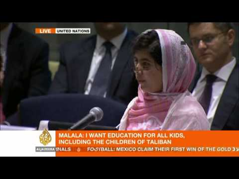 Malala Yousafzai's address to the UN