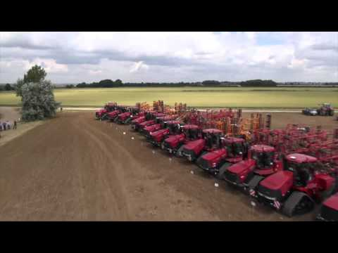 Case IH Quadtrac World Record - 50 Quadtracs