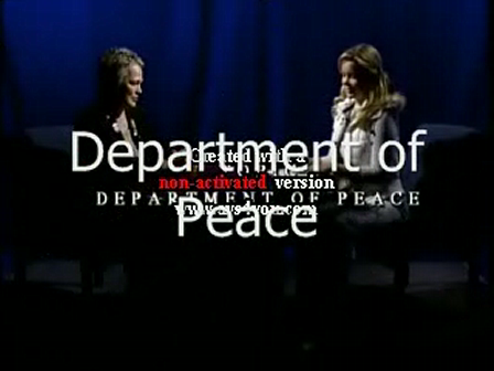 Dept of Peace INterview