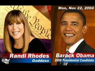 Randi Rhodes interviews Obama part2