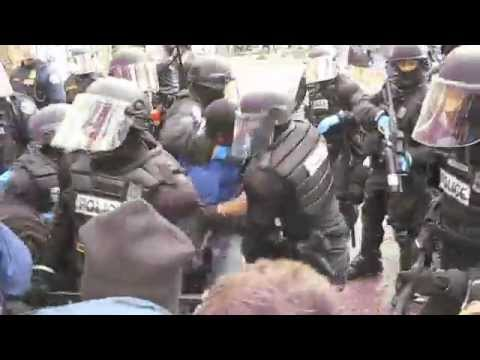 Occupy Portland Protestors met with Brutal Force by Police
