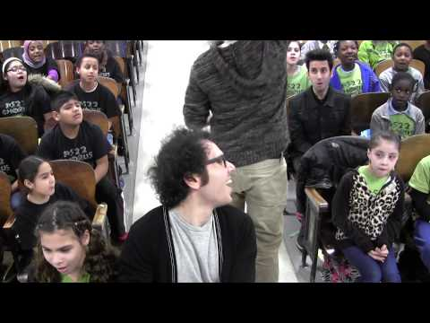 """The Magnificent Kids of PS22 Chorus sing """"Say Something"""" with A Great Big World"""