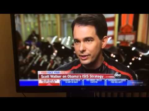 Military Industrial Complex dictates foreign policy Scott Walker