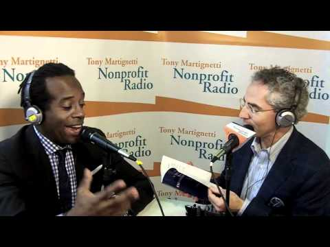 Nonprofit Radio Interview with Wali Collins, comedian and author