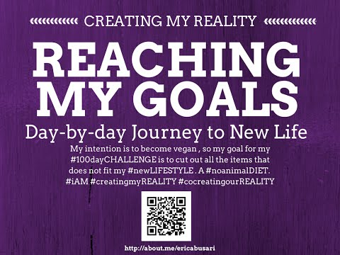 Creating my Reality by Reaching my GOALS in LIFE 100day Challenge DAY 094