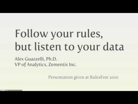 Predictive Analytics + Business Rules = Enhanced Decisioning