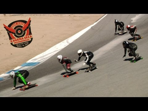 thrasher covering downhill