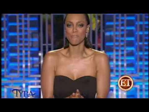 TYRA BANKS REVEALS HER REAL HAIR!