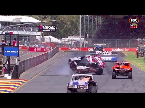 Creed Rolls At Finish Race 3 | Stadium Supertrucks - Adelaide 2015