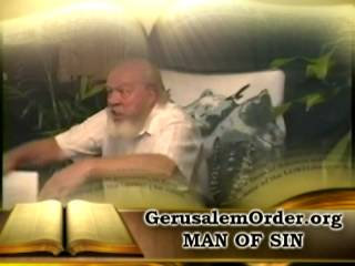 Man OF SIN revealed part 1 of 6
