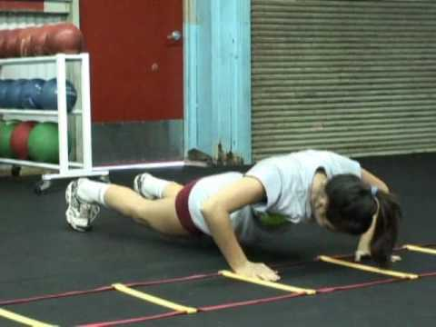 Nicole Boyer's 2010 Volleyball Recruit Workout Video