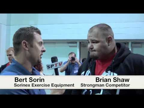 2011 Arnold Strongman Classic Champion Brian Shaw