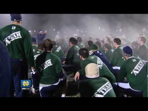 Notre Dame Football - Winter Workout Feature