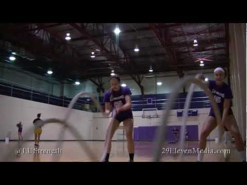 Weight Room Wednesday- Lipscomb Volleyball Gym workout