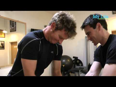 Chris Wood Pro Golfer - Fitness and Strength workout