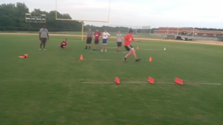 Speed and agility, directional change