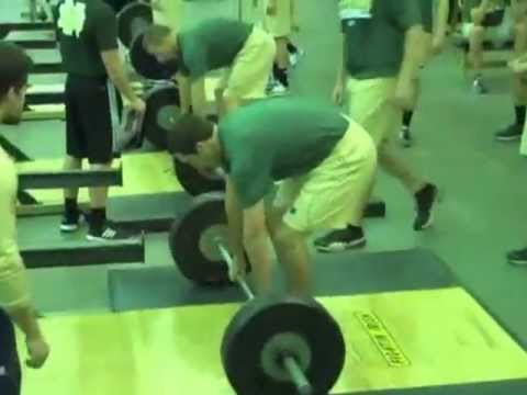 Notre Dame Baseball Strength and Conditioning Video