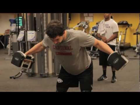 "Andrew Luck's ""World's Greatest"" Dumbbell Warm-Up"