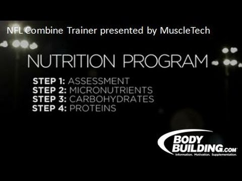 NFL Combine Trainer: Nutrition - Bodybuilding.com