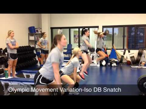University of Mary Volleyball In-Season Training