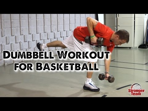 How to Get Basketball Strong With Only 2 Dumbbells