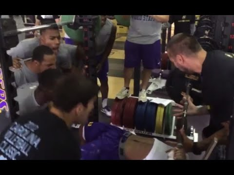 LSU Tigers Push for Excellence in the Classroom and Weight Room