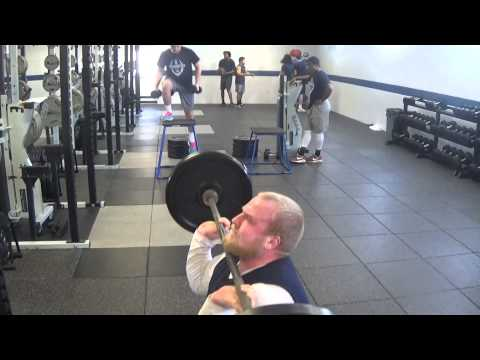 2015 Marietta College Football Workout