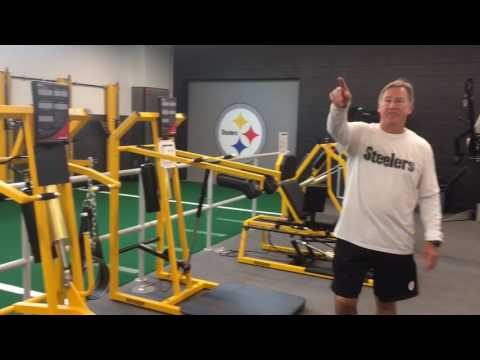 Touring the Pittsburgh Steelers' upgraded weight room