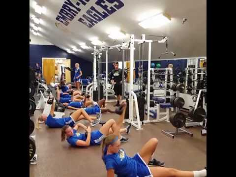 Embry-Riddle Women's Soccer Strength and Conditioning