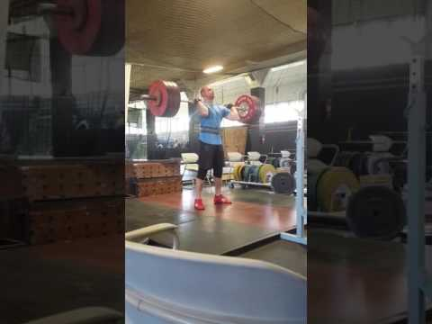 Jacob Niedermann clean and jerk
