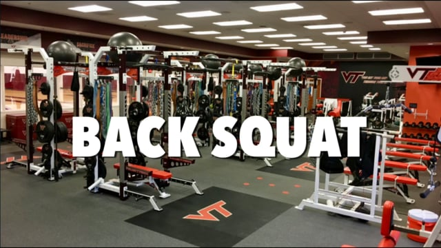 VT WBB Back Squat Technique