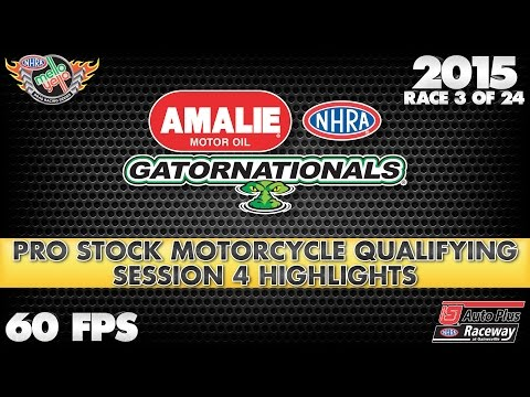 2015 Amalie Motor Oil NHRA Gatornationals Qualifying from Gainesville Part 3 of 6 (60fps)