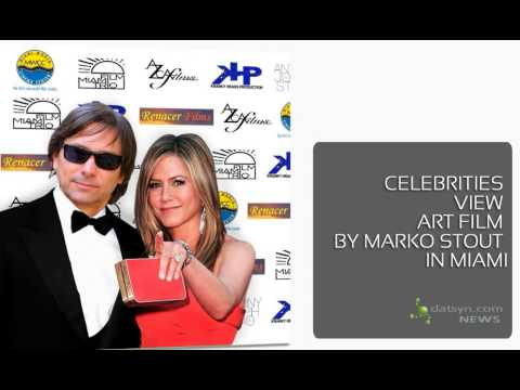 DatSyn News - Celebrities View Art Film by Marko Stout in Miami