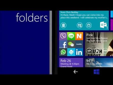 Windows  Phone 8.1 / 9.0 Concept UI