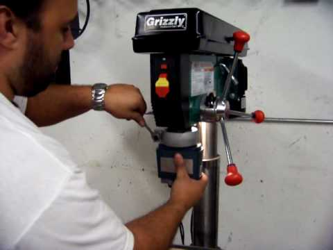 How To Make a Multiple Spindle Head Drill Press a Single Chuck Unit Again