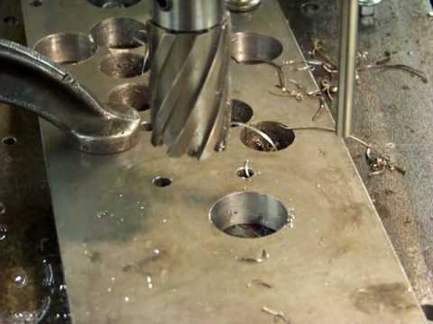 Larger Annular Cutter with AutoDrill 5100 - Interrupted Cut!